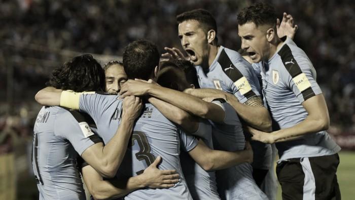 Qualificazioni Russia 2018 - Uruguay vincente e secondo: è Mondiale col 4-2 alla Bolivia