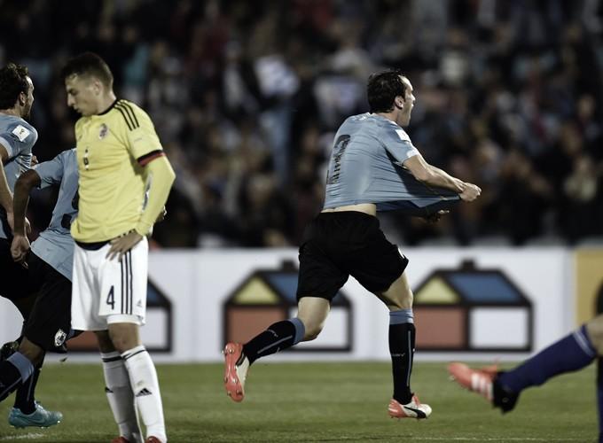 "Uruguay vs Colombia ventaja 'celeste' por una ""cabeza"""