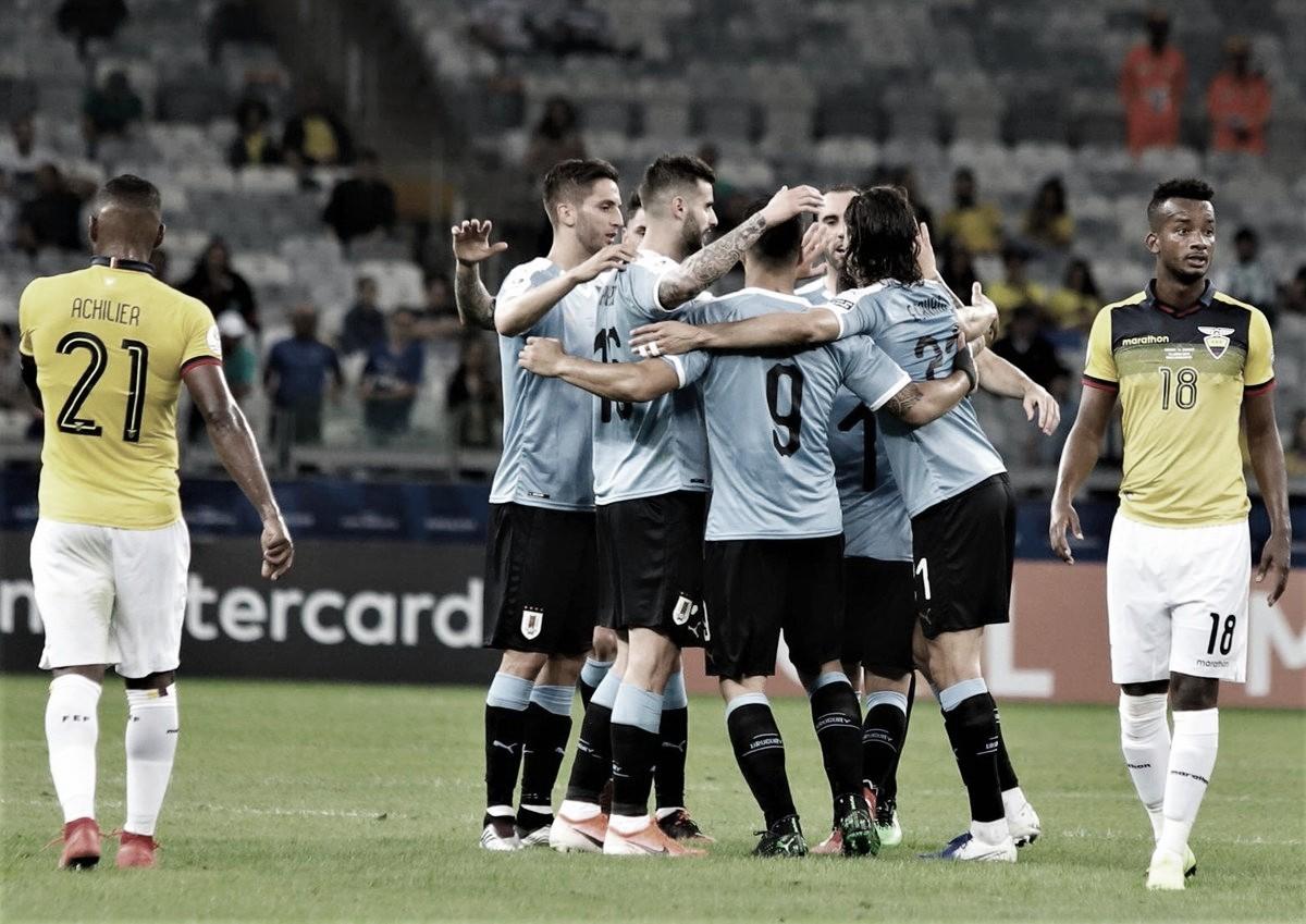 Debut goleador de Uruguay en la Copa América