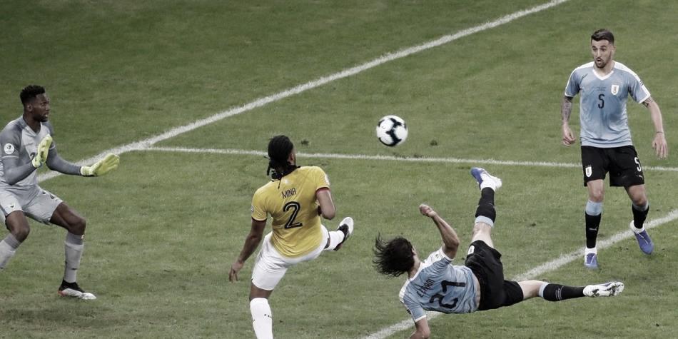 Uruguay debutó con goleada frente a una disminuida Ecuador