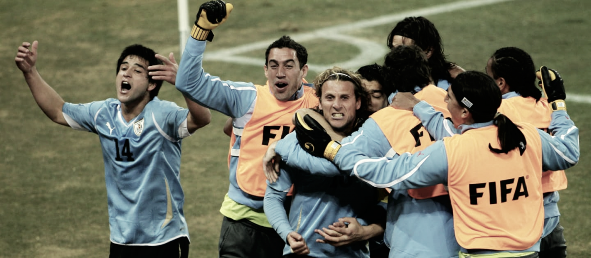 Partidazo, Uruguay derrota a Ghana en los cuartos de final de Sudáfrica 2010