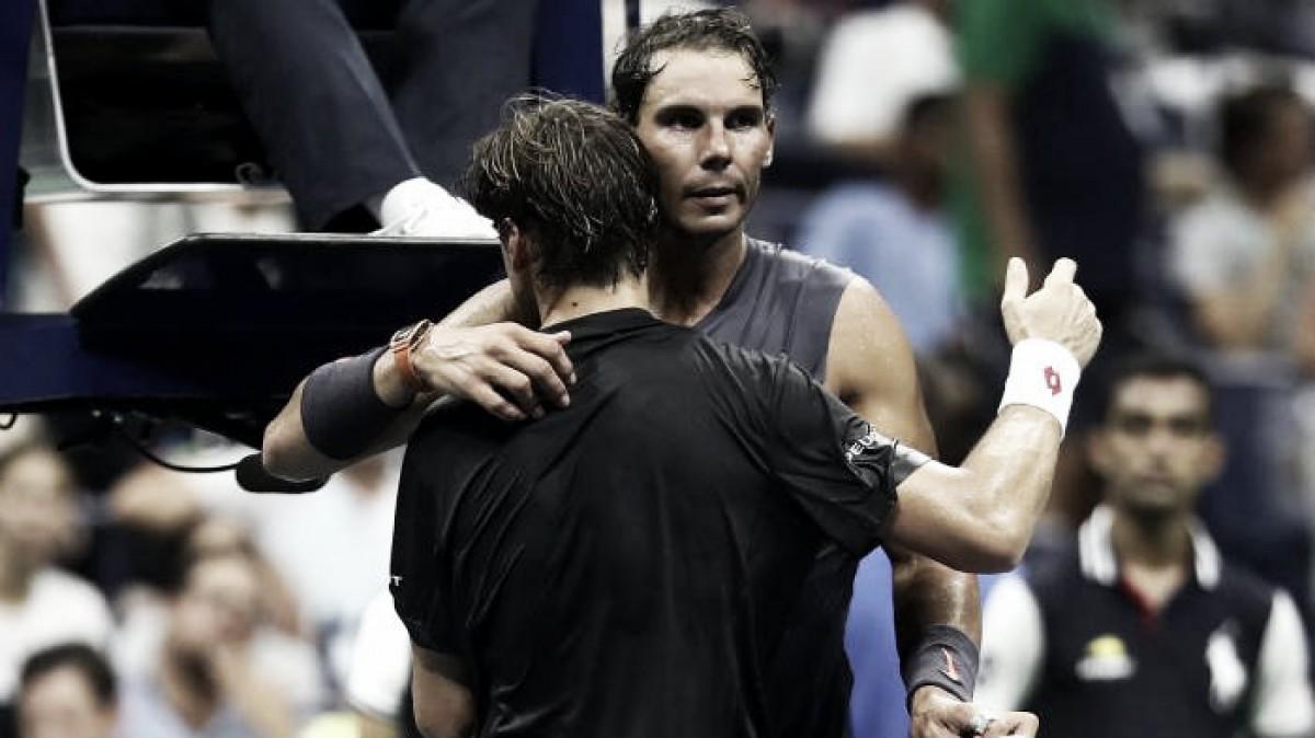 Ferrer se retiró por lesión de su último Grand Slam