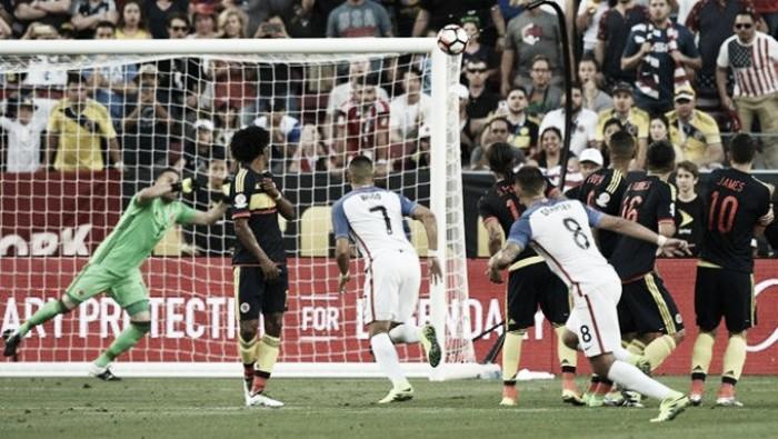 Estados Unidos 0-2 Colombia, puntuaciones del anfitrión