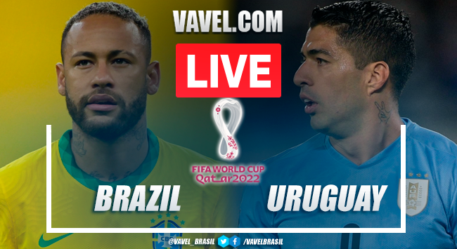 Goal and Highlights: Brazil 4-1 Uruguay in 2022 World Cup Qualifiers