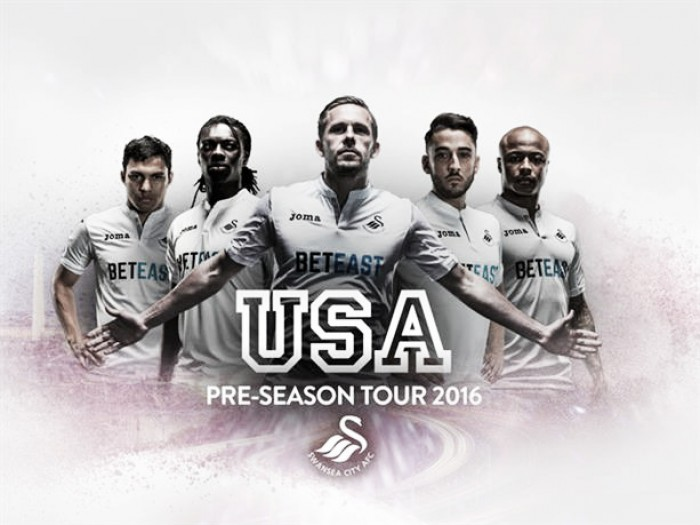 Swansea City name squad for pre-season tour in America
