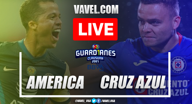 Goals and Highlights: America 1-1 Cruz Azul in Liga MX 2021