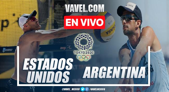 Resumen y mejores momentos del Estados Unidos 2-1 Argentina en Tokio 2020