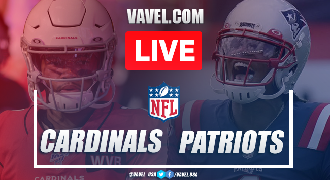 Highlights and Touchdowns: Arizona Cardinals 17-20 New England Patriots of NFL 2020