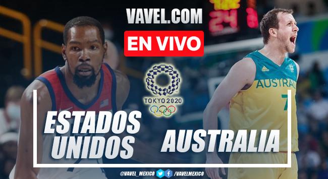 Resumen y mejores momentos del Estados Unidos 97-78 Australia en Baloncesto Varonil Tokio 2020