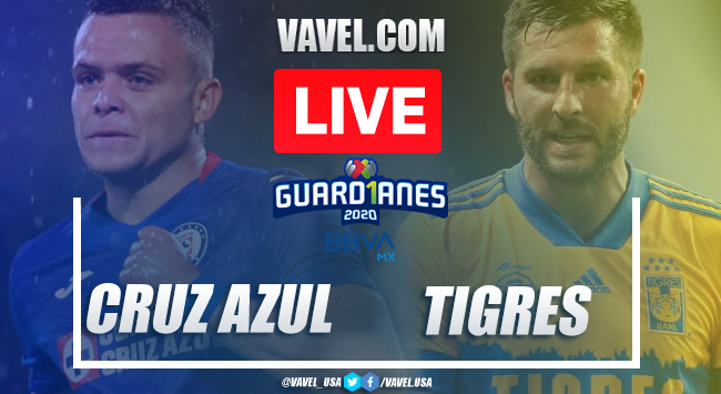 Goal and Highlights: Cruz Azul 0-1 Tigres of Liguilla Liga MX 2020