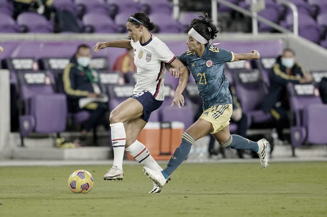 La Selección Colombia femenina perdió en su primer partido del 2020