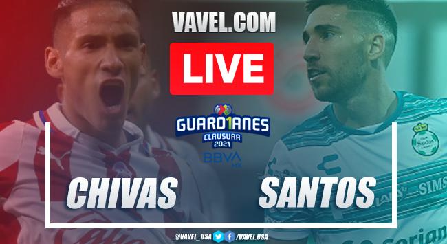 Goals and Highlights: Chivas 1-1 Santos Laguna in Liga MX 2021