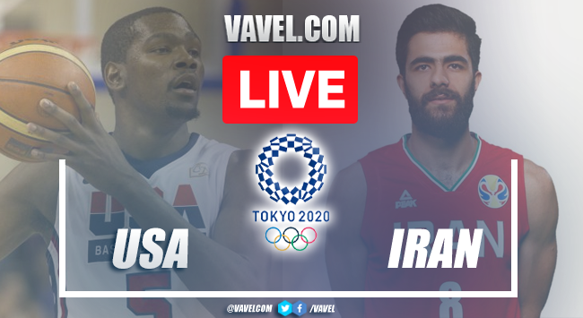 Highlights and Best Moments: USA 120-66 Iran in Tokyo 2020
