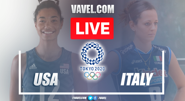 Highlights and Best Moments: USA 3-2 Italy in Volleyball in Tokyo 2020