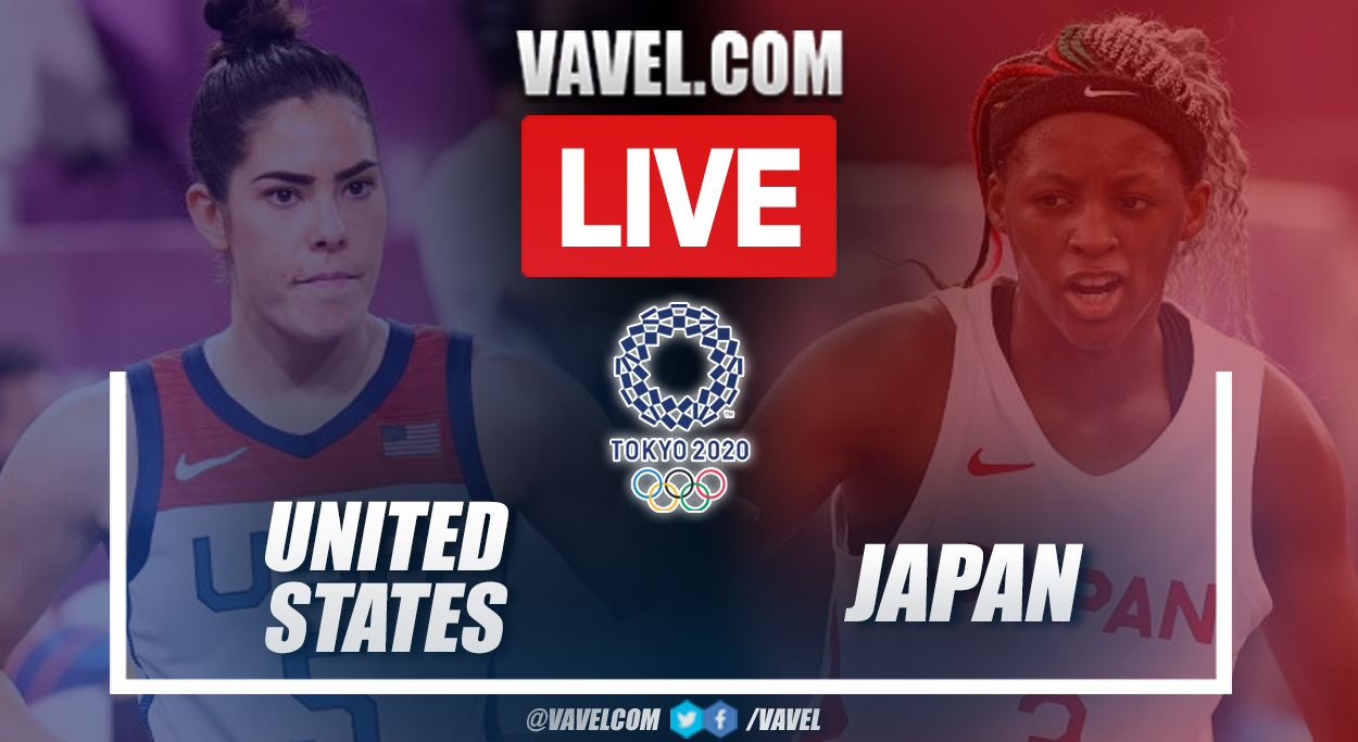 Highlights: United States 18-20 Japan in Women's 3x3 Basketball in Tokyo 2020