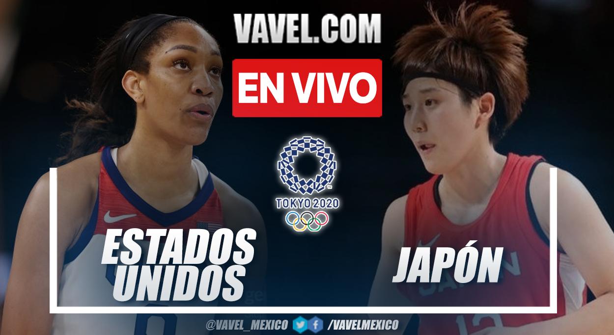 Resumen: Estados Unidos 90-75 Japón en final de baloncesto femenino en Tokio 2020
