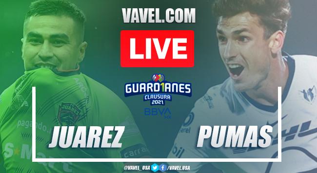 Goals and Highlights: FC Juarez 1-1 Pumas in Liga MX 2021