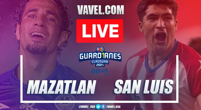 Goals and Highlights: Mazatlan 0-3 Atletico San Luis, 2021 Liga MX