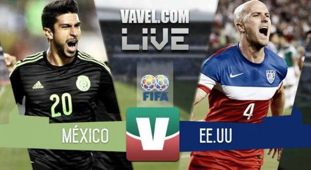USA - Mexico Live Results and Soccer Scores 2015 (2-0)