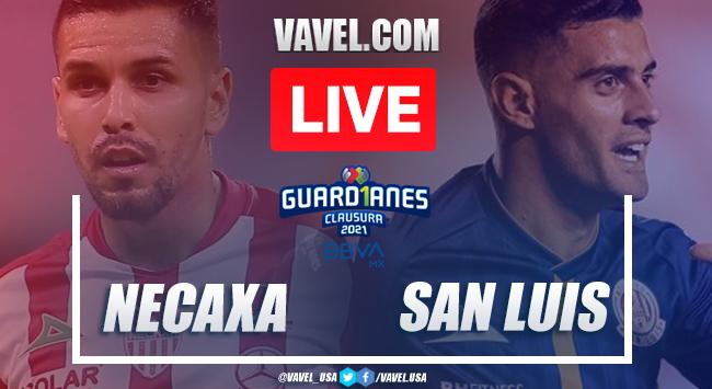 Goal and Highlights: Necaxa 1-0 Atletico San Luis, 2021 Liga MX