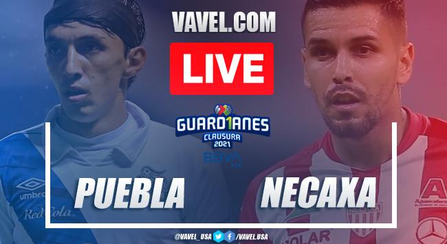 Goal and Highlights: Puebla 1-0 Necaxa in Liga MX 2021
