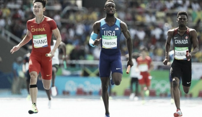 Rio 2016: Japan impressive as US and Jamaica make it through in men's 4x100m relay