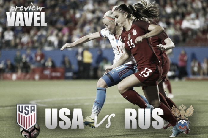 USWNT dominated Russia for first friendly and meet for another