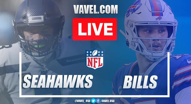 Touchdowns and Highlights Seattle Seahawks 34-44 Buffalo Bills, 2020 NFL Season