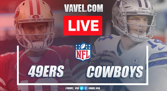 Resumen y anotaciones del San Francisco 49ers 33-41 Dallas Cowboys en NFL 2020