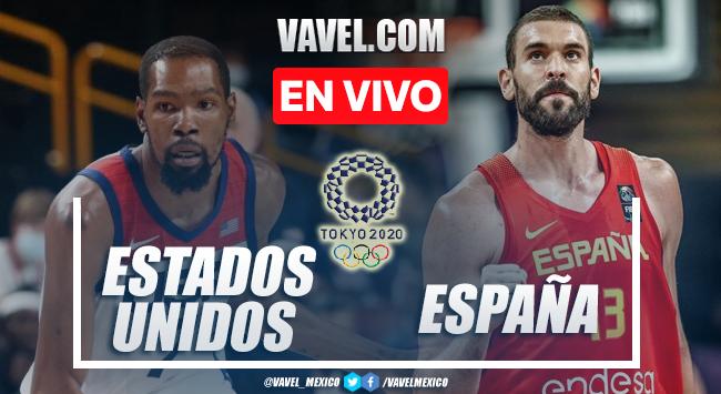 Melhores momentos de Espanha x Estados Unidos (81-95)