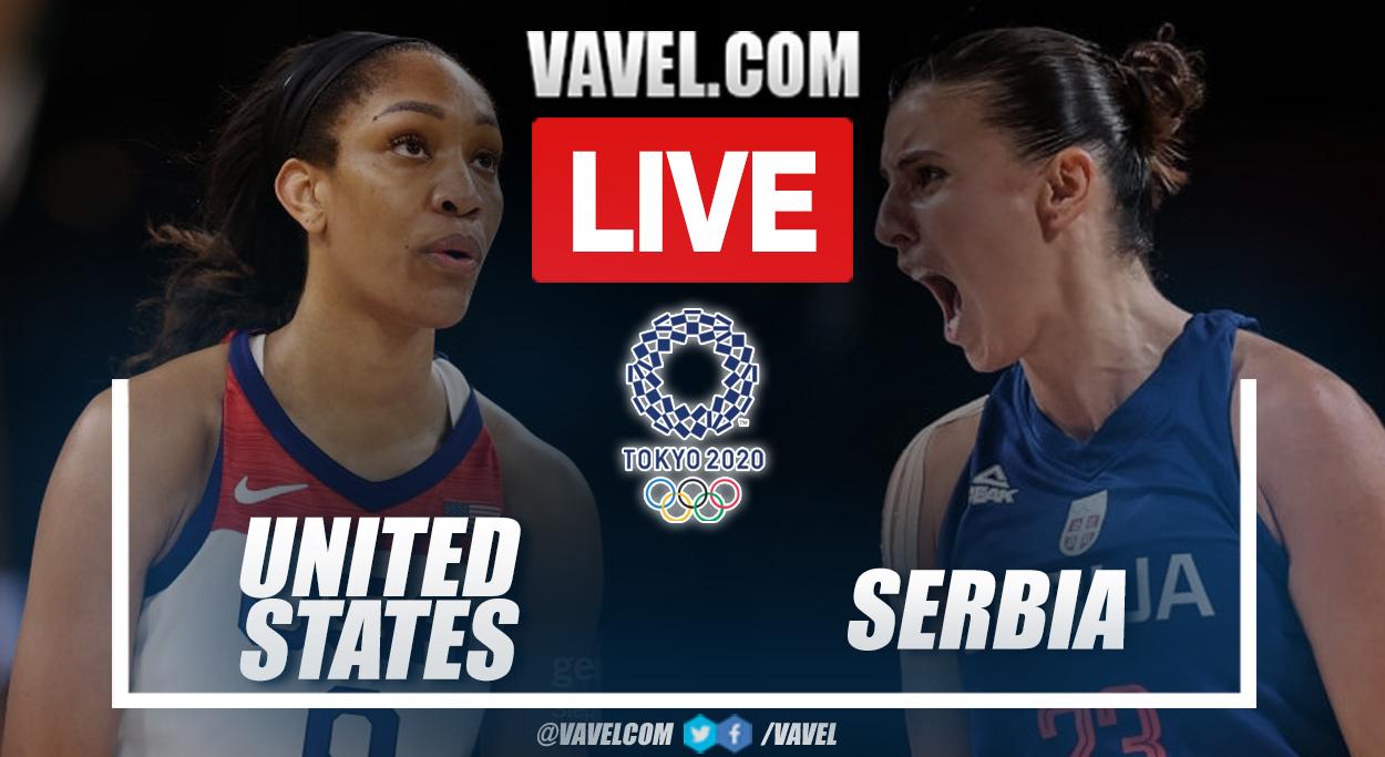 Melhores momentos Estados Unidos x Sérvia (79-59)