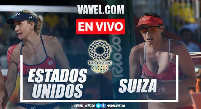 Resumen y mejores momentos del Voleibol Femenil Estados Unidos 2-0 Suiza en Tokio 2020