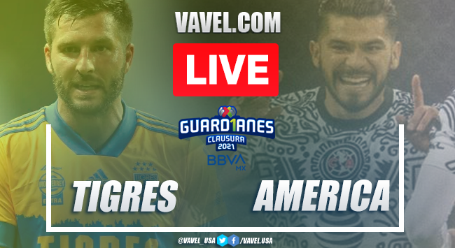 Photo of Tigres vs America: LIVE Stream Online and Results (1-2) | 04/10/2021 | VAVEL.com