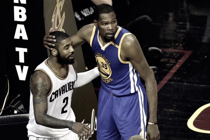 """NBA - Durant su Irving: """"È stato coraggioso, mi rivedo in lui"""""""