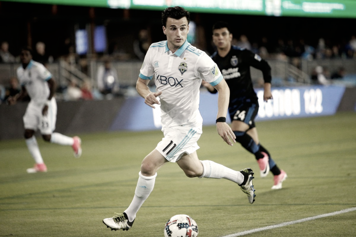 Aaron Kovar joins LAFC on loan from the Seattle Sounders