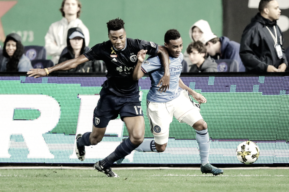 New York City FC travel to take on Sporting KC