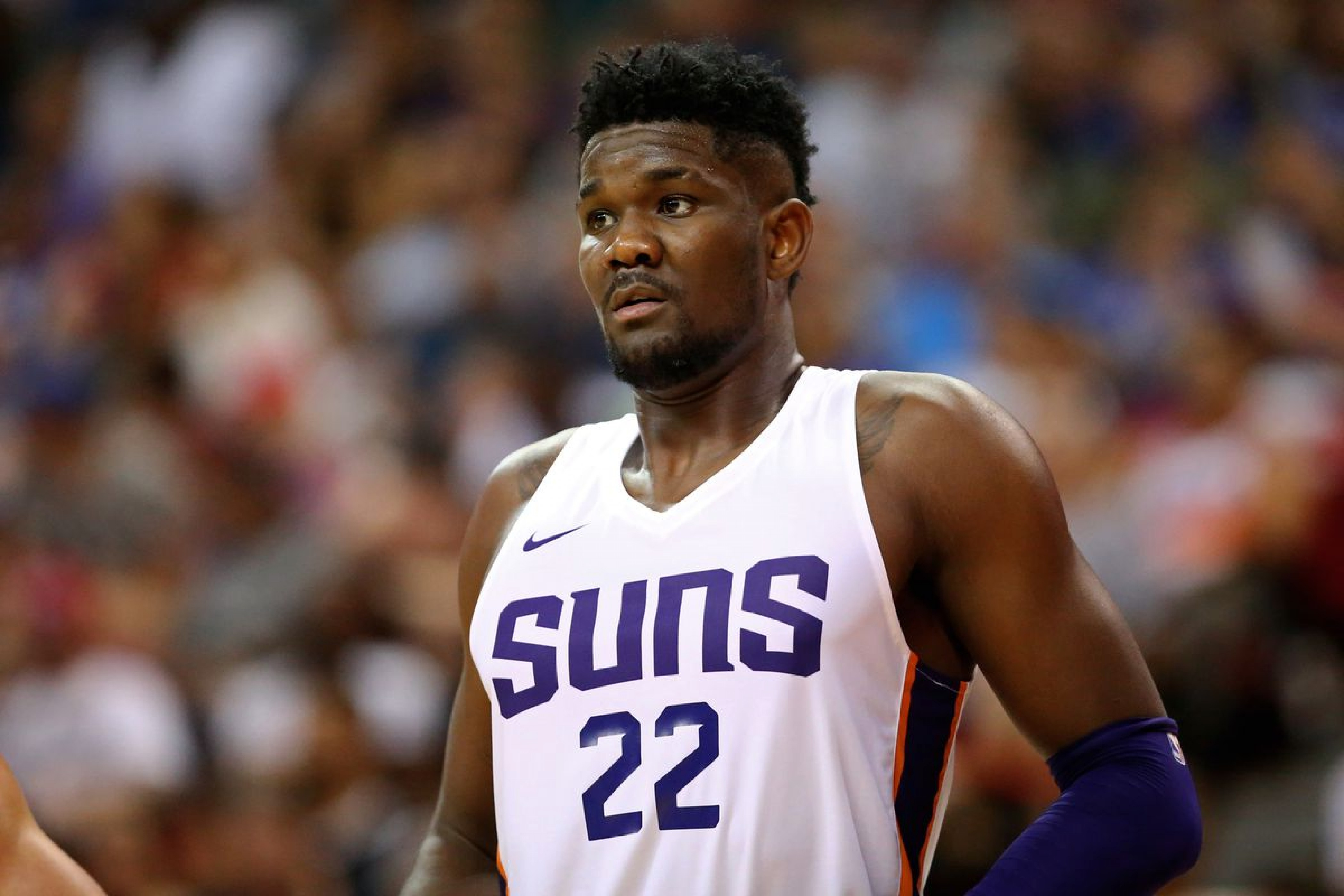 Deandre Ayton sets big expectations for his rookie year