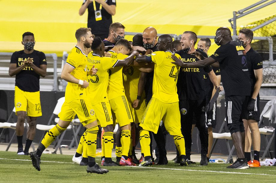 Crew SC remaind undefeated after 3-0 dousing of the Chicago Fire