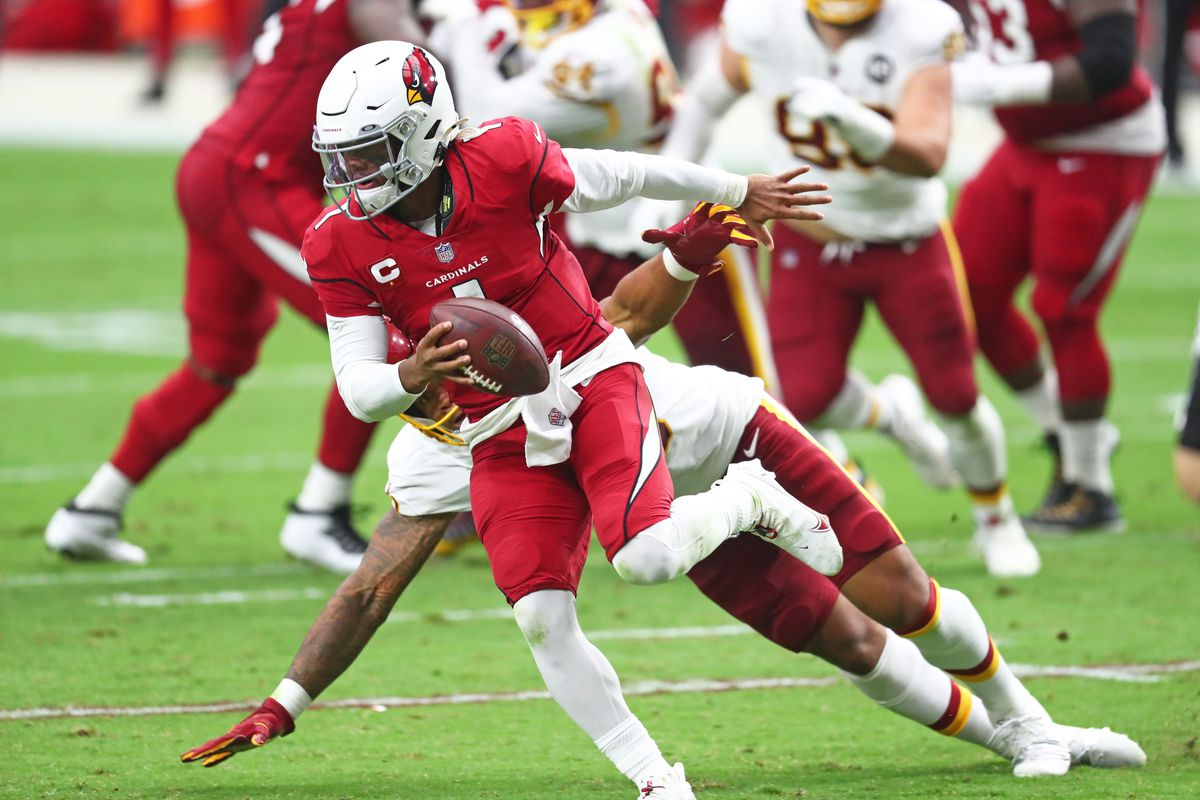 Arizona Cardinals roll past Washington for second win of the season