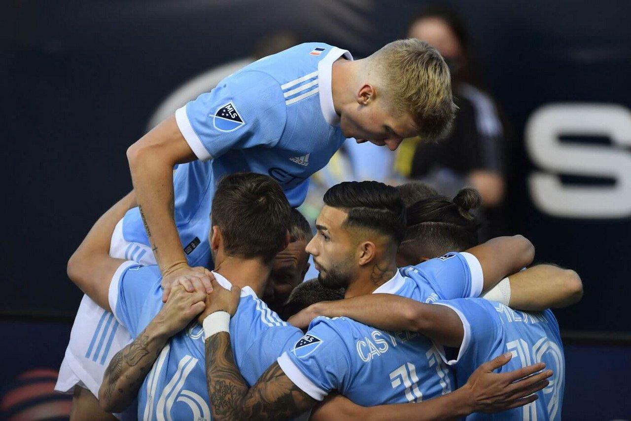 Philadelphia 0-2 NYCFC: Boys In Blue dominate 10-man Union