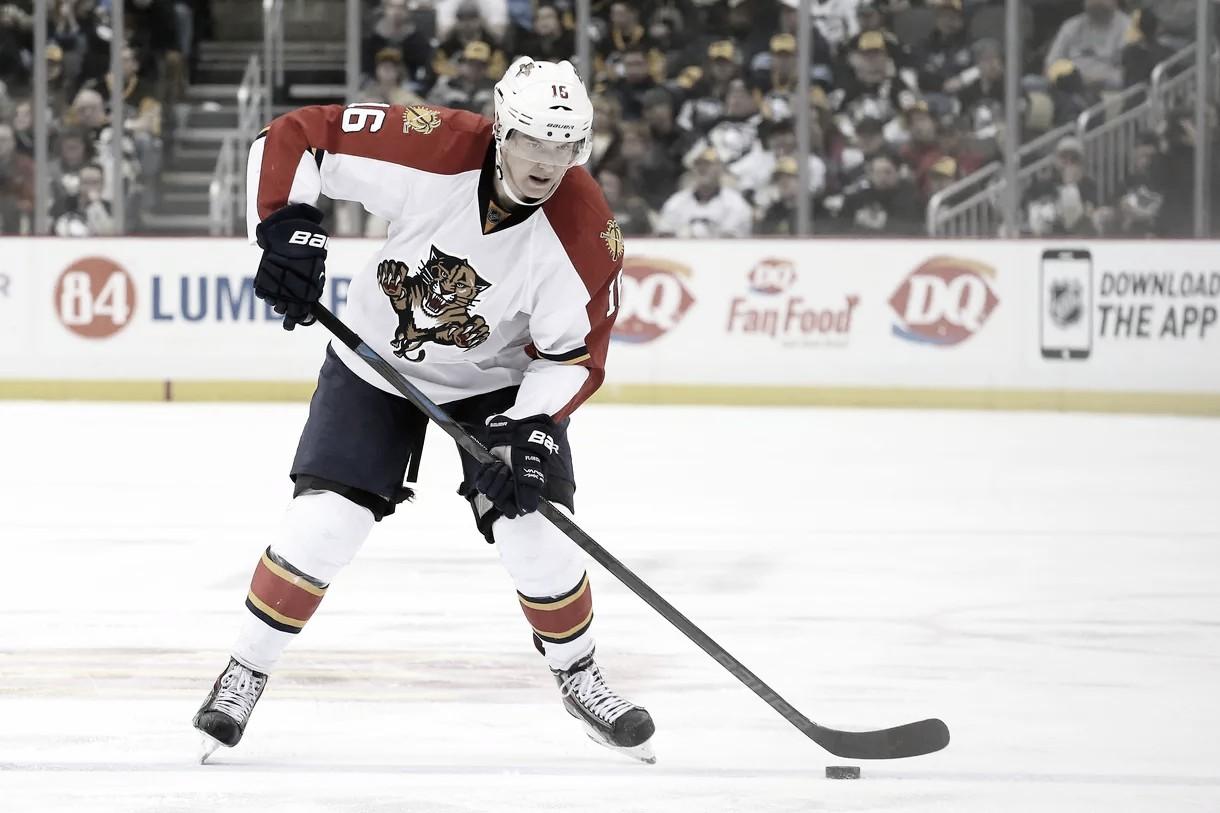 El infravalorado jugador de los Florida Panthers, Aleksander Barkov