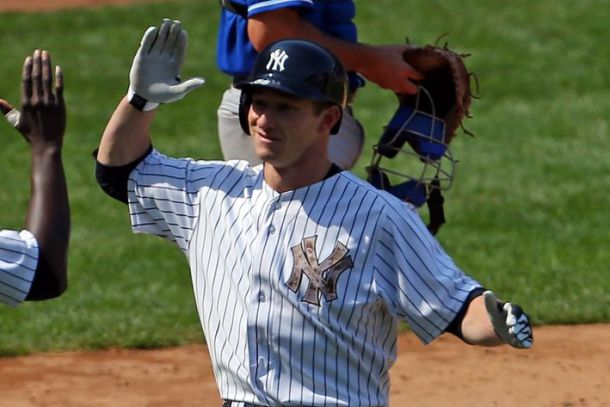 New York Yankees Place Slade Heathcott on 15-Day DL, Recall Ramon Flores