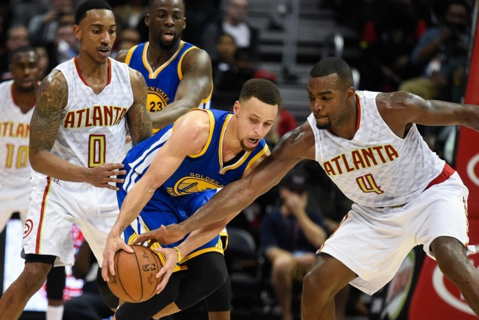 Golden State Warriors Welcome Atlanta Hawks To Oracle Arena In Search For Sixth Straight Win