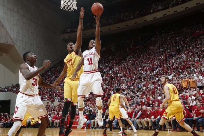 Indiana Hoosiers Close Out Regular Season With Dominant Win Over Maryland Terrapins