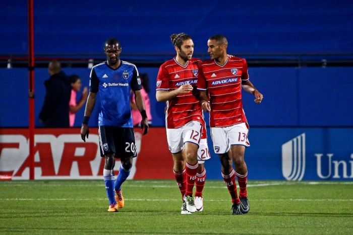 San Jose Earthquakes Help FC Dallas to 2-2 Draw