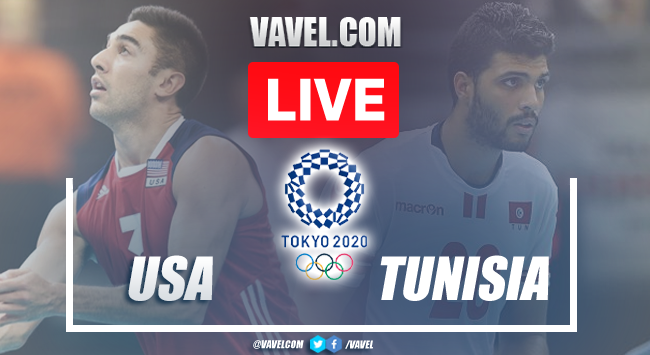 Highlights and Best Moments: USA 3-1 Tunisia in Volleyball Olympic Games 2020