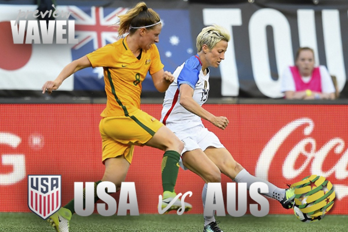 USA vs Australia preview: Rematch ready