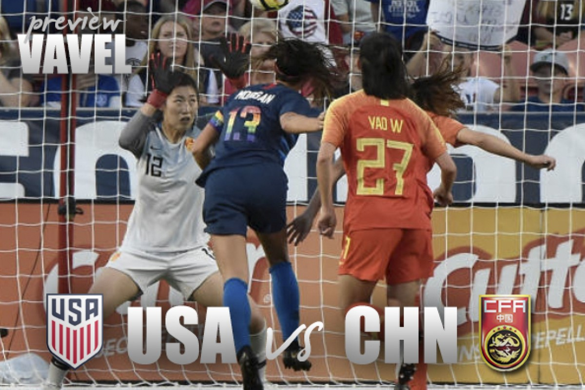 USWNT vs China PR preview: Looking for improved form from the United States in match two