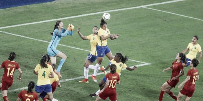 Artilheira do futebol feminino nos Jogos Olímpicos, Cristiane promete briga por medalha