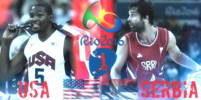 Rio 2016, Basket - USA a caccia del tris, Serbia per l'impresa